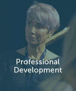 Professional Development online learning image