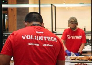 1440 volunteers with operation BBQ for CZU Lightning Complex fire disaster relief