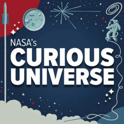 NASA's Curious Universe podcast logo